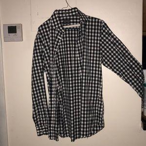 Calibrate Male Casual 34-35 non-Iron shirt